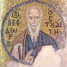 Icônes de Saint Théodore le Studite, Confesseur, Moine du Monastère du Stoudion. (IX°s).