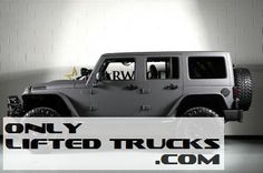 Lifted 2013 Jeep Wrangler Unlimited Kevlar Coated Exterior