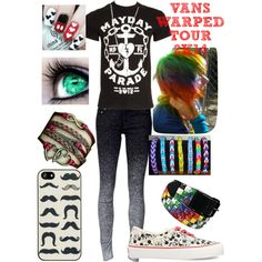Raven's Warped Tour Outfit