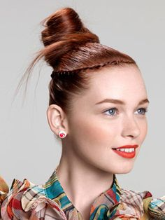 The Topknot #63 from Seventeen's Perfect Prom Hairstyle