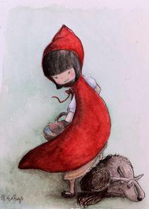 """Ilustración de cuentos clásicos infantiles.  """"Pinoccio"""" Diseño reaizado como formato de portada de libro ilustrado. El título está incorporado en el diseño y se integra con la ilustración. """"E..."""