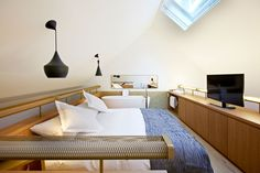 "B2 Boutique Hotel - ""Hürlimnn Suite"" on two floors! by Althammer Hochuli"