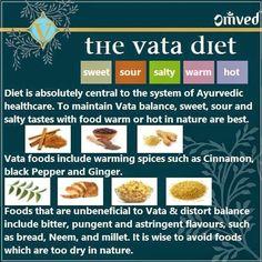 The Vata Diet..
