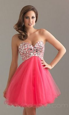 #homecoming #dress #pink #sparkles