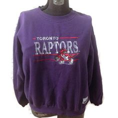 0c4dc2f24 Toronto Raptors Sweater   NBA Basketball   Crewneck Shirt   Sports    Purple