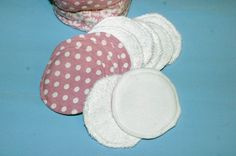 Lingettes démaquillantes en tissu et éponge de bambou / tissu et  micro polaire…