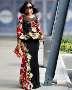 here are latest Ankara designs that can make you look outstanding and a whole new.Be sure to know what suits your body type. Be original, creative. African Fashion Ankara, African Fashion Designers, African Print Dresses, African Print Fashion, Africa Fashion, African Dress, African Attire, African Wear, African Women