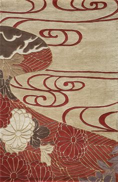 click for details:  #rugs dining living contemporary modern traditional @NW Rugs and Interior Design