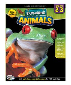 This comprehensive learning resource provides engaging lessons to spark students' interest and encourage critical thinking. Through full-color activities, little learners develop an understanding about animals, their habitats and lifestyles from across the globe. Plus, the included poster and sticker sheet bring the fun beyond the pages.Publisher: Carson-Dellosa Publishing Company