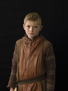 "Bjorn Ironside as a child in the TV-series ""Vikings""."