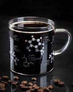 Coffee Chemistry Mug But First Coffee Glass Mug Science Glass Coffee Mugs, Coffee Drinks, Coffee Cups, Coffee Maker, Coffee Tables, Coffee Creamer, Coffee Machine, Coffee Time, Coffee To Go