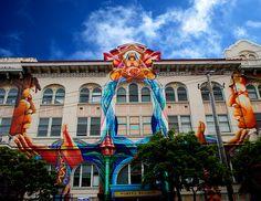Detalle del Edificio de Mujeres, The Mission District, San Francisco, 2008