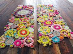 DIY Teppiche und Fußmatten - Bunt wohnen !