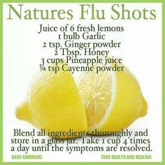 Natural Flu Remedy
