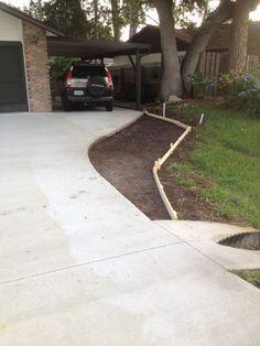 Concrete Driveway Extension | Brevard Concrete Paving, Inc ...
