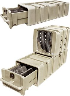 Kennel Gear: heaters, covers, bowls, beds, cages, and more...