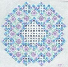 beautiful hardanger design - This would be a pretty design for a quilt....hmmmm