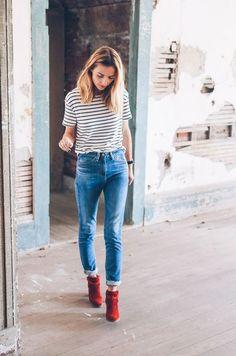 awesome Модные замшевые сапоги — Удачные образы 2018