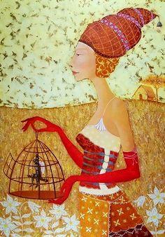 Irma Kusiani Painting via liveinternet.ru