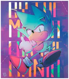 Happy B-Day Sonic! by Nerkin on DeviantArt Sonic The Hedgehog, Hedgehog Art, Silver The Hedgehog, Sonic Team, Game Sonic, Sonic And Amy, Sonic And Shadow, Sonamy Comic, Character Art