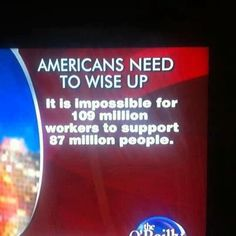 Wake up people. It is a recipe for economic disaster! One that we won't recover.