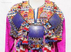 antique islamic Multan Jewellery  necklace enamelled pendants Punjab Pakistan 1