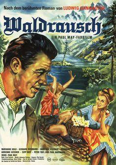 Poster zum Film: Waldrausch. 1962