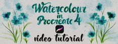 Watercolour in Procr