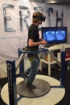 Cyberith Virtualizer – Immersive Virtual Reality Gaming