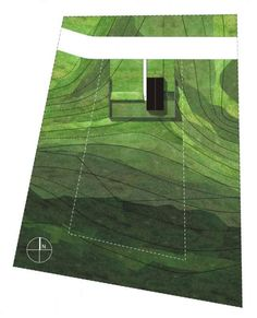 Medusa Group - Dom w Poznaniu | Plan | Slope | Diagram | Landscape Architecture