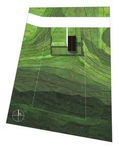 Medusa Group - Dom w Poznaniu | Plan | Slope | Diagram | Landscape Architecture