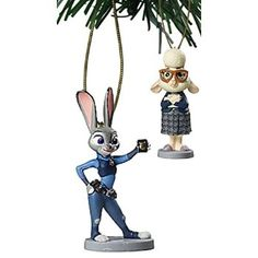 """#Christmas Shop online Disney Zootopia """"Judy Hopps & Bellwether"""" 2 pc Ornament Set for Christmas Gifts Idea Store . Little ones can offer a thrilling time using their particular  Christmas Toys. On the other hand, it's critical to bear in mind that safe practices should always are available 1st. Every year a larg..."""