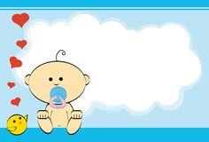 Nuevas invitaciones de Baby Shower para imprimir   Como Organizar ...