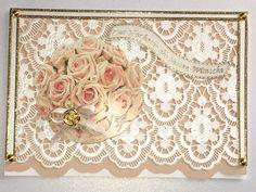 Hochzeitskarten - Karte zur Hochzeit Nr. 579 - ein Designerstück von MM-Bastelparadies bei DaWanda Etsy, Newlyweds, Craft Gifts, Crafting