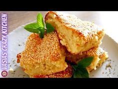 YouTube Cheese Pie Recipe, Cheese Pies, Phyllo Recipes, Pie Recipes, Cheesecake Pie, Quick Meals, Cornbread, French Toast, Breakfast