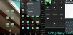 Android L Preview Theme v1.1 Apk