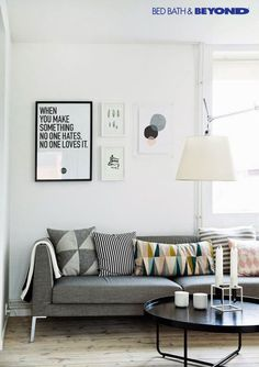 Here are some doable living room decor and interior design tips that will make your home cozy and comfortable for family and friends. My Living Room, Apartment Living, Home And Living, Living Area, Living Room Decor, Living Spaces, Danish Apartment, Minimal Apartment, Small Living