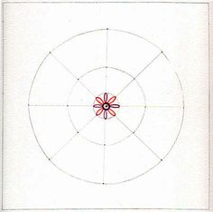 How to Draw a Mandala. great step by step