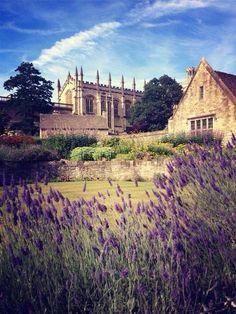 Christ Church College Gardens, Oxford.
