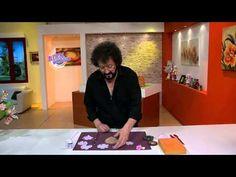 Jorge Rubicce - Bienvenidas TV en HD - Enseña a modelar una Rosa de fantasía con Porcelana Fría. - YouTube