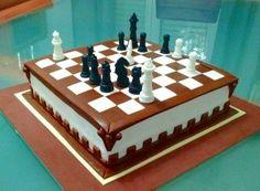 Chess Cakee | De Perla's | Tartas fondant personalizadas en Málaga