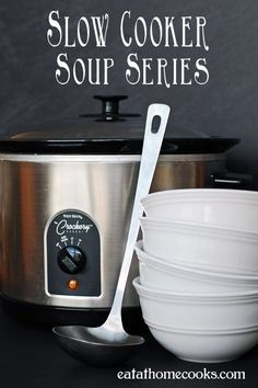When I first had the idea to do a Slow Cooker Soups Series, I asked on my Facebook page if anyone would be interested. My goodness! 770 likes and 147 comments on the post added up to an overwhelmin...