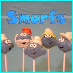 Smurf Birthday Party - with smurf food ideas :)