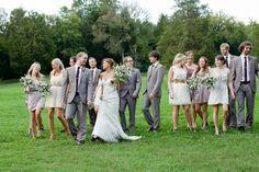 Candid wedding party #cedarwoodweddings