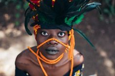 Sarah Waiswa is a Nairobi-based photographer who collaborates with other artists to create visually stunning pieces. Africa Art, African Women, Afro, Halloween, Artist, Fictional Characters, Image, Locs, African Art