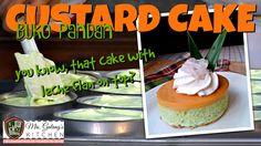 BUKO-PANDAN CUSTARD CAKE (Mrs.Galang's Kitchen S3 Ep7)