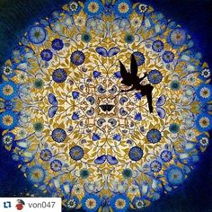 Instagram media desenhoscolorir - Mandala maravilhosa by @von047 #jardimsecreto #johannabasford #secretgarden #desenhoscolorir