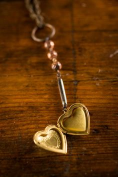 New & Awesome: Exclusive locket created for B&B, the Bourbon Love #Necklace is handcrafted from vintage jewelry... and our new favorite thing.