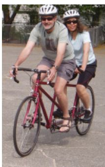 Tandem bikes are great for couples that want to ride together or for riders of different abilities or fitness levels. Tandem Bicycle, Cycling, Road Trip, Take That, Motorcycle, Fitness, Fun, Couples, Amsterdam