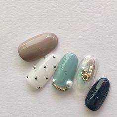 48 Amazing Nail Art Designs For Christmas Fingernail Designs, Gel Nail Designs, Fabulous Nails, Perfect Nails, Aloha Nails, Unicorn Nails Designs, Luv Nails, Japan Nail, Feather Nails